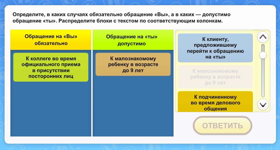 Правила и нормы обращения к собеседнику (нормы обращения)